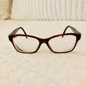 Burberry Tortoise Shell Eyeglasses